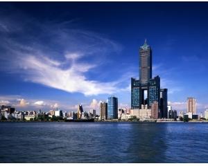 高雄85大楼,旅游参观世界第13高的摩天大楼