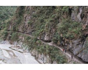 太鲁阁国家公园砂卡礑步道开放500米
