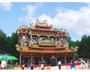 受镇宫阿里山地区最大的寺庙