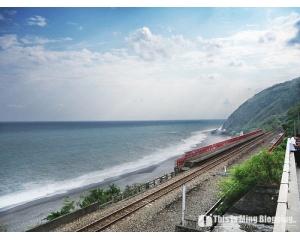 台东太麻里海边的秘境火车站 美丽的多良