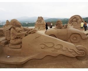 台湾暑假去哪儿福隆国际沙雕艺术季7月12日开幕