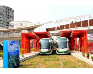 2015年8月份高雄轻轨地铁试运营免费搭乘大陆游客