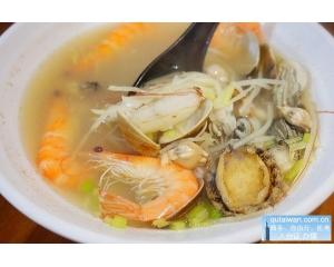 古灶虾卷台南特色虾卷和高雄海产粥结合在一起