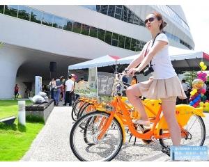台中政府鼓励单车出行、旅游IBike多增加100站