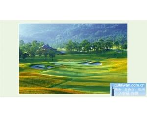 桃园大溪高尔夫俱乐部大溪东区第7洞 /par4 436码