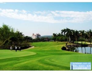 淡水台湾高尔夫球场第6洞 /par5 550码