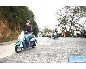 马祖岛方便游客提供300辆电动车租赁每天只要5