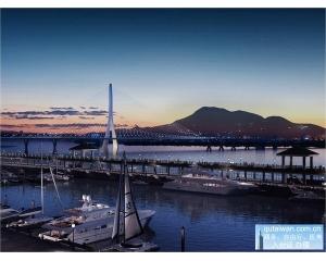新版淡江大桥未来将打造成全球最大单塔斜张桥