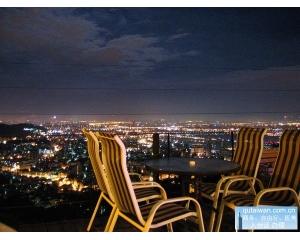 阳明山5家饭店可以晚上俯瞰台北美丽的夜景