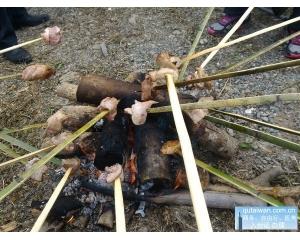 台东鹿野永康部落学射箭、DIY竹筒、吃美食烤肉