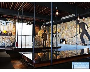 九份黄金博物馆园带动金矿主题餐厅成为新宠