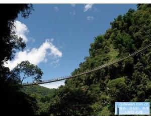 全台湾5座美丽的吊桥屏东琉璃吊桥最长达262米