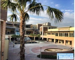 美式outlet奥特莱斯紧邻高铁桃园站以及机场捷运桃园站