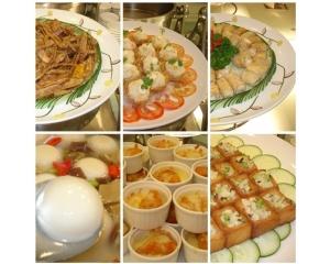 台北莲池阁素菜餐厅让吃素健康美味而养生