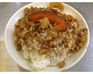 台北口福鲁肉饭口齿留香的美味,难以用言语形容