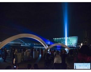 国立故宫博物院南部院区举行云嘉南之夜点灯活动