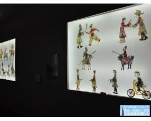 高雄冈山传统皮影戏馆藏艺术作品共计7233件