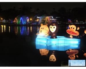 台中元宵节去哪里玩?元宵灯会游船水舞秀诗情又画意
