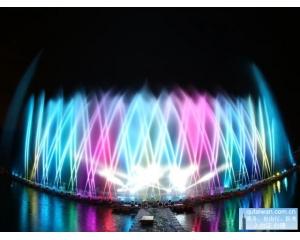 2016花莲太平洋灯会游客与归乡游子同享欢乐气氛