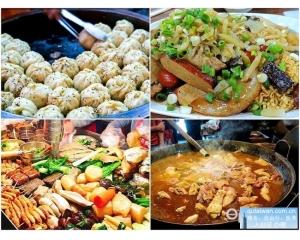 台北四大夜市扛霸子小吃就算排队半天也要吃到